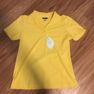 Tops - Play Dry Yellow Polo